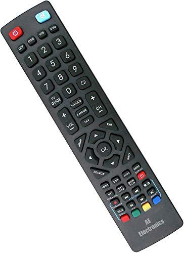 AE Blaupunkt - Mando a distancia para televisores Blaupunkt LED LCD Smart TV