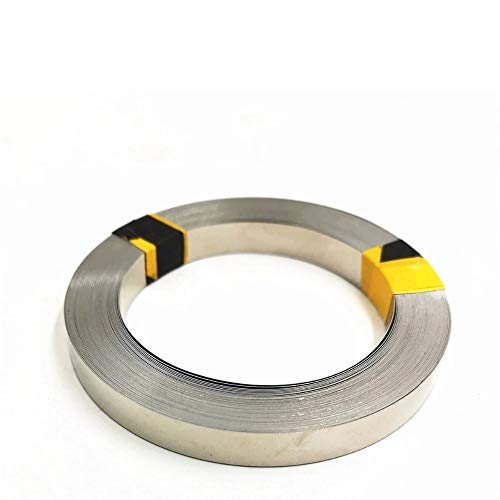 TECNOIOT 1 roll 5 Meter 0.15mmx8mm Pure Nickel Strip 99.96% for Battery Spot Welding Nickel Belt