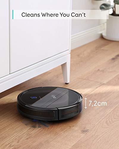 eufy by Anker Saugroboter RoboVac 11S MAX, Roboterstaubsauger mit BoostIQ, extrem schlank, 2000Pa Saugkraft, geräuscharm, selbstaufladend, mit 3 Reinigungsstufen, für Hartböden bis mittelhohe Teppiche - 3