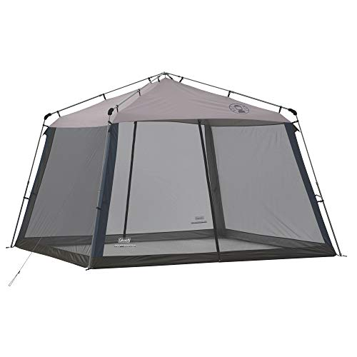 Coleman Instant Screen House, 11' x 11', Center Height 7'6', Grey, 2000036712