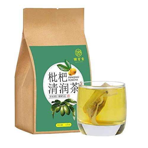 Loquat Tea Loquat Tea Tea Bag Herbal Tea Caffeine-free Soothing Herbal Tea 4.2oz. (120g)枇杷清润茶