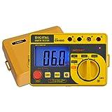 ALLOSUN EM480D Digital Earth Tester/Digital Earth Resistance Tester with Hard Case...