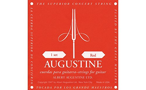 Augustine Red Konzertgitarre Saiten-Set Medium Tension