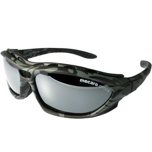 El camuflaje deportes gafas Set con acolchado y diadema elástica mecara Edition M6