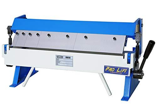 Pro-Lift-Werkzeuge Abkantbank 610 mm Abkant-Maschine Kantpresse Metall manuell Abkantwerkzeug Biegemaschine