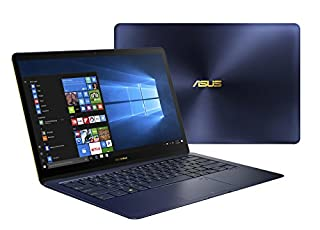 "ASUS UX490UA-IH74-BL ZenBook 3 Deluxe 14"" FHD Ultraportable Laptop, Intel Core i7-8550U, 16GB RAM, 512GB SSD, Windows 10 Pro, Royal Blue (B07D1LX7C7) 