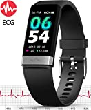 MorePro ECG Monitor Watch,Waterproof Fitness Tracker with Heart Rate Blood Pressure Monitor, Activity Tracker with Enhanced Sleep Monitor for Android iOS, Pedometer Calorie Step Counter for Women Men