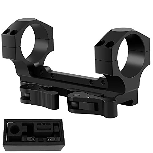 LOCKOOS Dual Ring QD Scope Mount 30mm with Quick Release,...