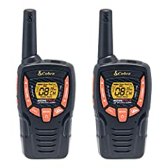 LONG RANGE UP TO 25 MILES: Provides an extended long range signal with 2662 channel combinations RECHARGEABLE BATTERIES INCLUDED: Includes rechargeable batteries and a micro-USB charging cable 10 NOAA WEATHER CHANNELS & WEATHER ALERT - Be prepared fo...