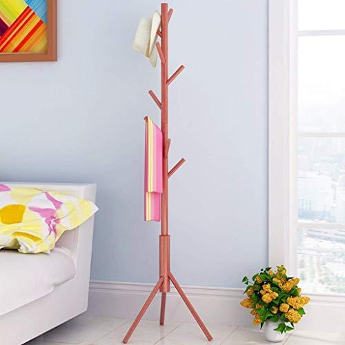 percheros, Perchero, Perchero, Perchero, Perchero, Perchero, Barra de Colgar, Ramas de árboles Dobles Ajustables para la Oficina del Dormitorio 46 * 168 cm (Color: B)