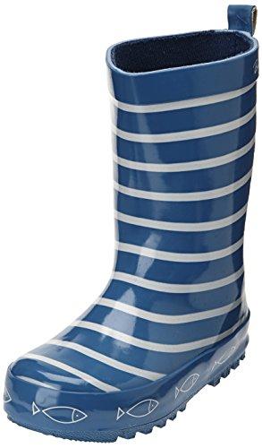 Be Only Timouss, Stivali di Gomma Bambine e Ragazze^Bambini e Ragazzi, Blu(Bleu (Bleu Electrique), 31 EU