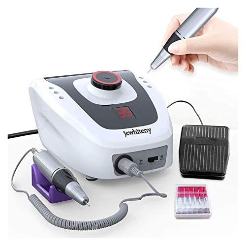 Elektrische Nagelbohrmaschine Maniküre Maschine Nagel Pediküre Maschine Fingernagelbohrer (Color : Black)