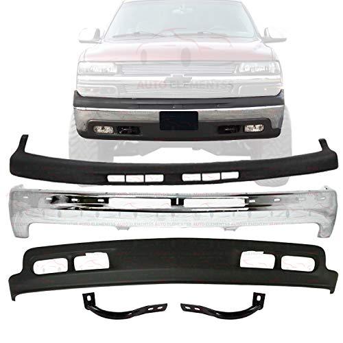 03 chevy silverado front bumper - 8