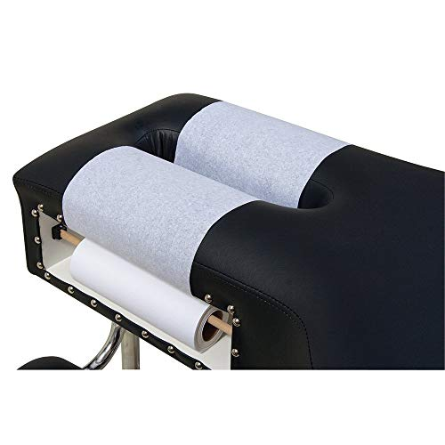 BodyMed Headrest Paper Rolls, White Economy, Smooth Texture, 8.5