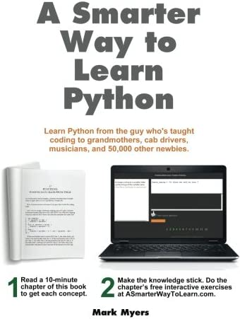 A Smarter Way to Learn Python Learn it faster Remember it longer product image