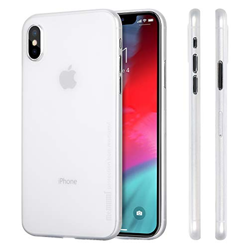 memumi Funda para iPhone XS, 0.3 mm Ultra Slim Case Compatible con iPhone XS Fundas 5.8