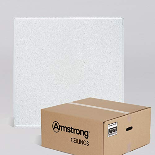 Armstrong Ceiling Tiles; 2x2 Ceiling Tiles – HUMIGUARD Plus Acoustic Ceilings for Suspended Ceiling Grid; Drop Ceiling Tiles Direct from the Manufacturer; DUNE Item 1774 – 16pcs White Tegular