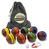 Best Bocce Ball Sets - GoSports 100mm Hardwood Bocce Set with 8 Premium Review