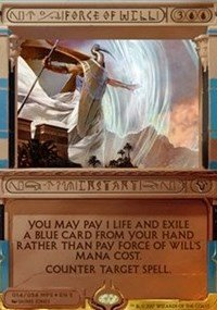 Wizards of the Coast Force of Will - Foil - Masterpiece Series: Amonkhet Invocations