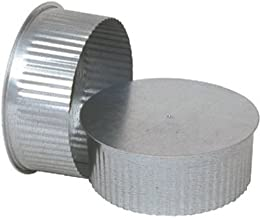 UNITED STATES HDW GV0734 Round Chimney Stove Pipe Plug, Pack of 1