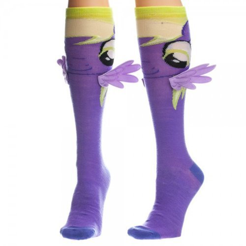 My Little Pony Derpy Muffin Knee High Socks with Wings