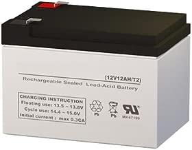 NP12-12 Compatible Sealed Lead Acid Battery 12V 12AH w/ F2 Terminal