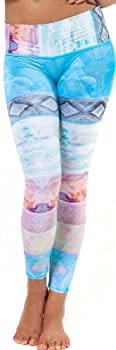 teeki Women s Leggings or Hot Pants Small Tarot Magick Pattern