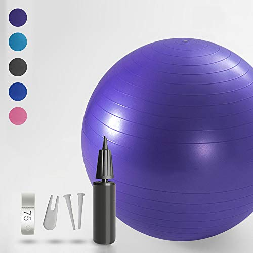 SISSEL Pilates Soft Ball 22 cm Gymnastikball Fitness Ball lila
