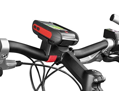 Falk Fahrradhalterung Easy2 Fix Fahrradhalter für LUX, Schwarz/Rot, 1673710001