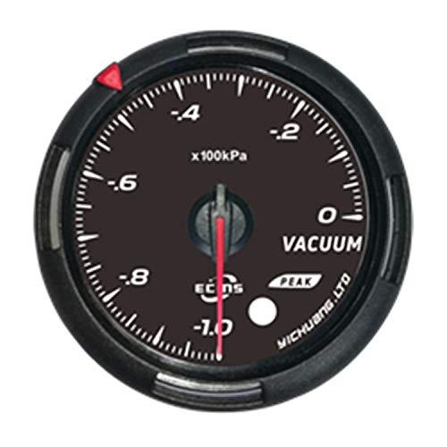 SymArt Speedómetros de reemplazo automotriz Metro Universal de la Barra del indicador de presión de la presión del vacío de Turbo Boost del Coche de 60m m para Camiones de Tractor de Motocicletas.