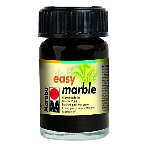 Marabu da 15 ml, Colore: Nero Marmo
