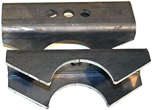 Barnes 4WD - Anti-Wrap Leaf Spring Perch Pair compatible with, Dana 60, Ford 8.8 & Ford 9