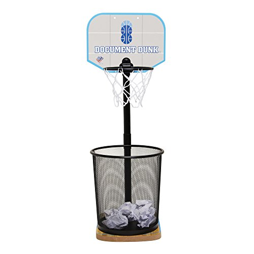 Document Dunk Mini Basketball Hoop for Trash Can - Brings...