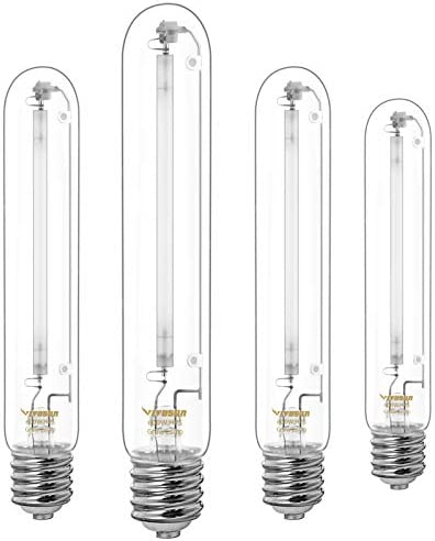 VIVOSUN 4 Pack 600 Watt High Pressure Sodium HPS Grow Light Bulb Lamp High PAR Enhanced Red product image