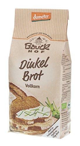 Bauckhof Mieszanka do pieczenia chleba orkiszowego (500 g) – Bio