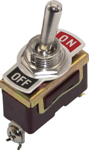 Brass 2 Position Toggle Switch