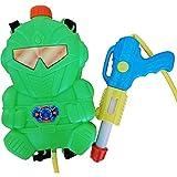 Wasserpistole-n S31, Kinder-Spielzeug Spritz-Pistole Roboter Rücken-Tank Wasser-Spritze...