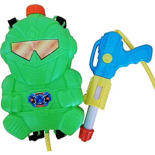 Wasserpistole-n S31, Kinder-Spielzeug Spritz-Pistole Roboter Rücken-Tank Wasser-Spritze Super-Soaker Spielzeug-Gewehr Pump-Gun Geschenk-Idee Geburtstag-e
