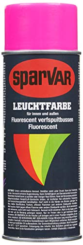 SparVar 6031101 Lackspray leuchtspray, Neon, 400 ml, pink