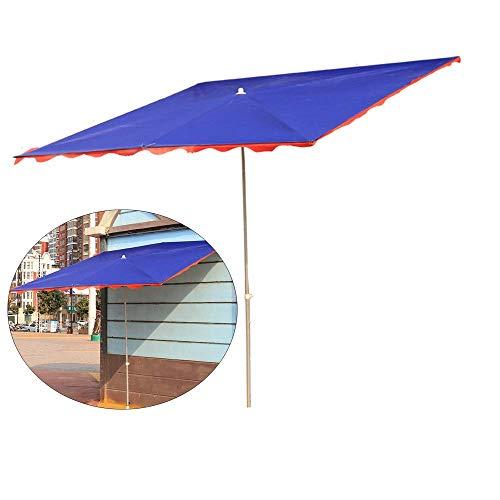 CCLLA Sombrillas portátiles, sombrillas de pie para Exteriores, sombrillas inclinadas Plegables Grandes, sombrillas de Mango Largo a Prueba de Sol y Lluvia, adecuadas para Tiendas, Tiendas y puest