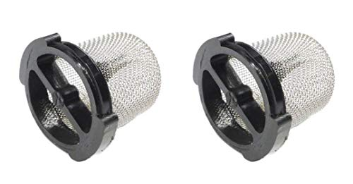 Learn More About 2) Polaris 6-504-00 Pool Cleaner Universal Wall Fitting Filter Screens UWF QD