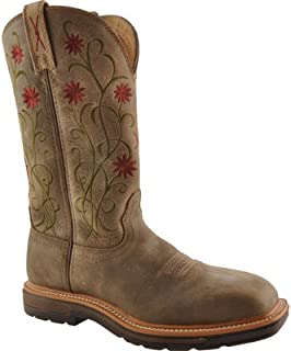 Twisted X Ladies Bomb Lite Cowboy Work Boots