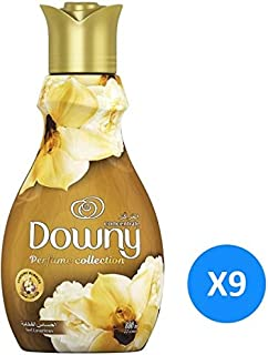 Downy Perfume Collection Concentrate Fabric Softener Feel Luxurious, 880ml 9 Pcs