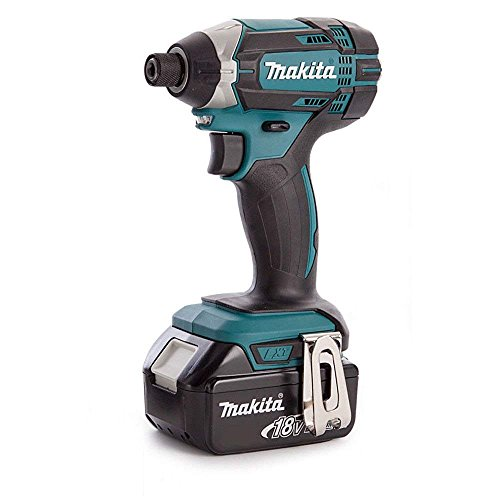 Makita DTD152ZBL1850 DTD152Z LXT 18v Impact Driver Body with 1 x 5Ah Battery, 18 V