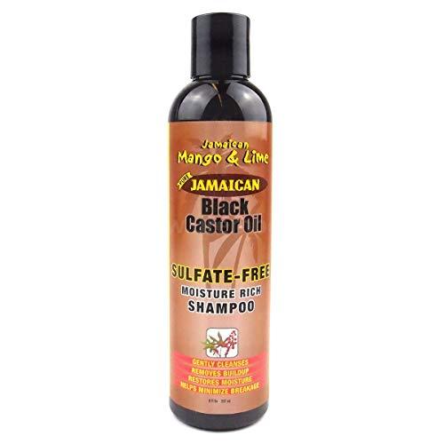 Jamaican Mango & Lime Shampooing sans sulfate à l'huile de ricin noire de Jamaïque 237ml
