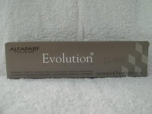 Alfaparf Evolution Cube 3D Tech Permanent Hair Color 5.32 Light Golden Violet Brown 2.05 oz by Alfaparf Milano