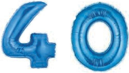 nueva gama alta exclusiva Globos Gigantes de de de azules 40 números  ahorra hasta un 30-50% de descuento