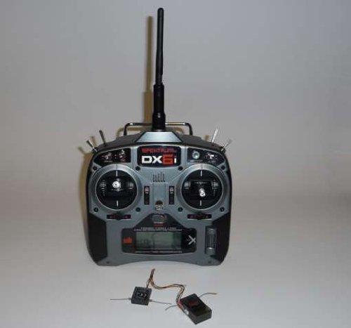 Spectrum DX6i mit Empfänger AR6210 mit Batterien Mode 2