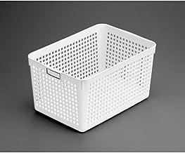Inomata 4584 Name Deep Basket, White