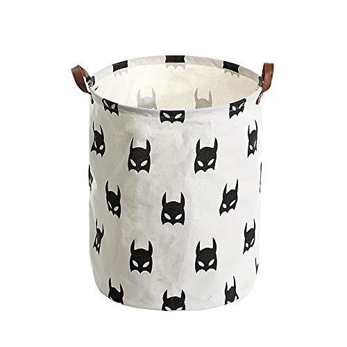 fixiyue Algodón Impermeable y Lino baño Sucio Cesta de Ropa Japonesa colección...